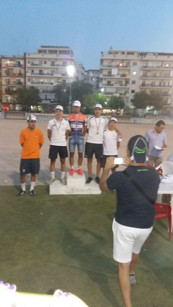 Davide De Robertis (Team Galbiati), 5^ classificato nell'Omnium a Barletta
