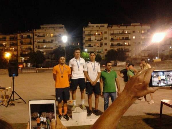 De Robertis Enrico (Team Galbiati), 1° a destra