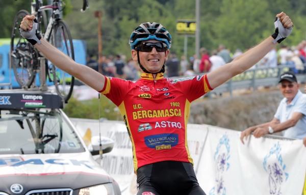 Andrea Garosio vince a Boscochiesanuova (Photobicicailotto)