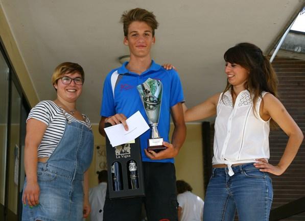 Alessandro Baroni, 3^ classificato (Foto Berry)