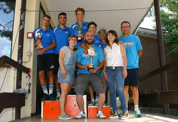 Premiazione Equipe Corbettese (Foto Berry)