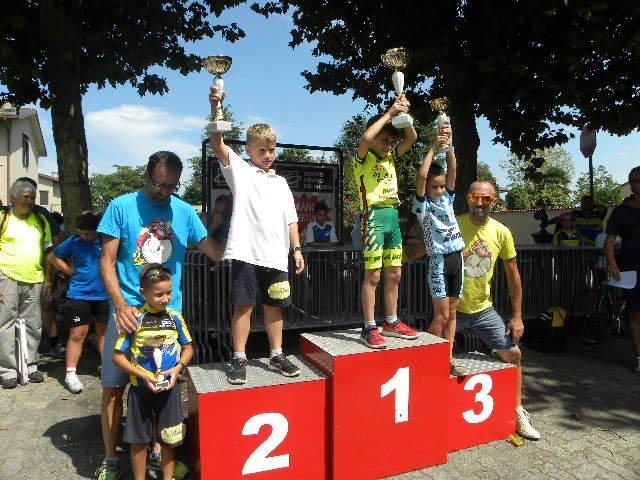Podio G1 col vincitore Tommaso Re (Foto Nastasi)