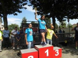 G5 Anita Poletti, 1^ femmina classificata (Foto Nastasi)