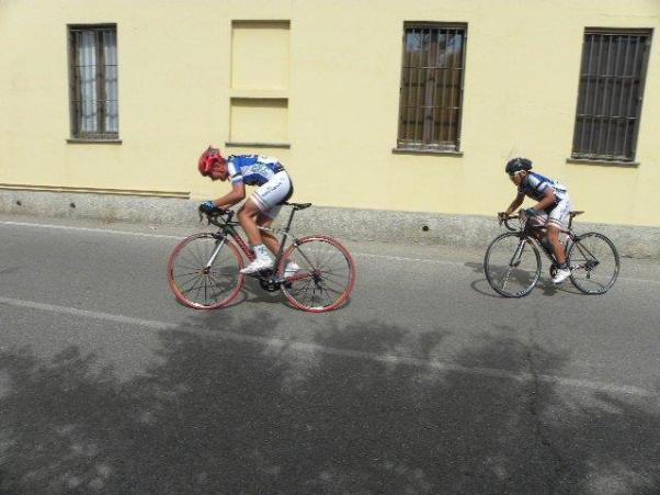 La lunga fuga di Belletta e Lazzarin (Foto Nastasi)