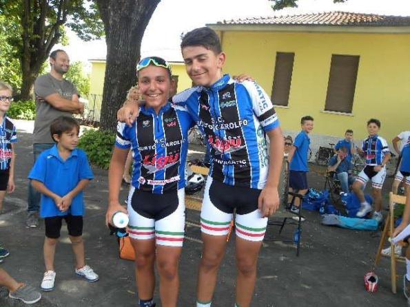 Federico Lazzarin e Dario Igor Belletta, i due mattatori di Robecco sul Naviglio (Foto Nastasi)