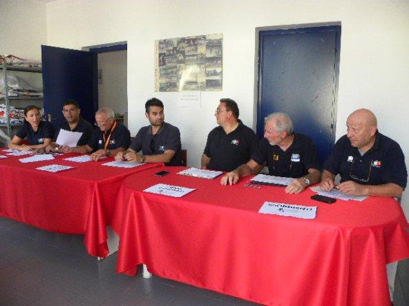 Giudici FCI ai Tricolori della Pista categorie Giovanili (Foto Nastasi)