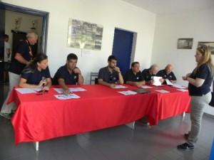 25.07.16 - Giudici Fci in riunione a Busto Garolfo