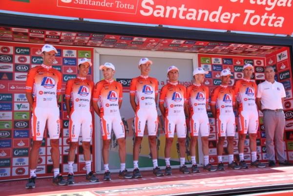 Presentazione squadre 78^ Volta a Portugal (Jean Claude Faucher)