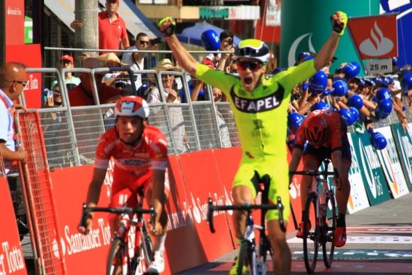 Daniel Mestre vince allo sprint la 1^ tappa del Giro del Portogallo (JC Faucher)