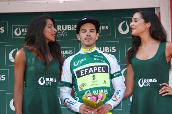 Daniel Mestre sul podio (JC Faucher)
