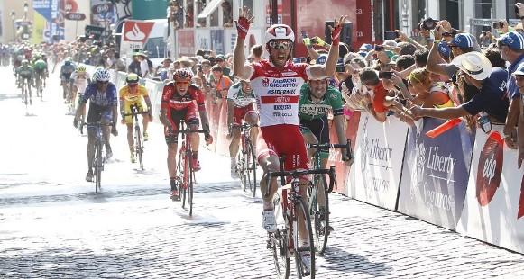 L'ITALIANO Francesco Gavazzi vince 2^ tappa davanti a Gonçalves e Garcia