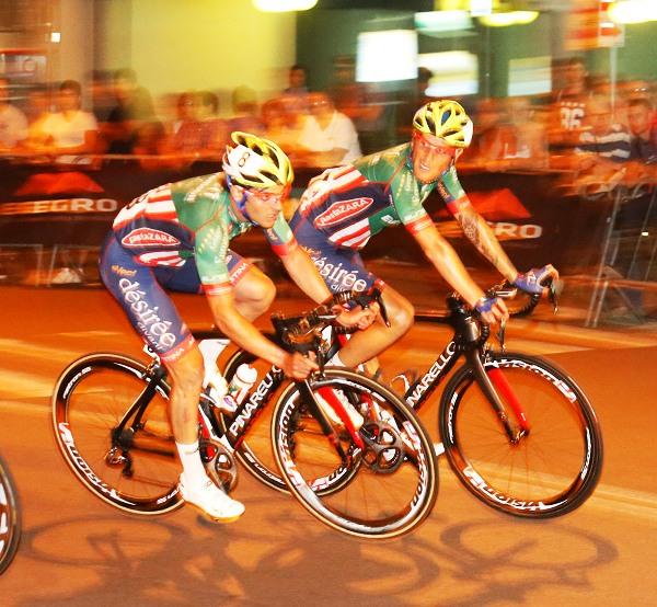 Andreoletti e Gaggia in azione (Foto Pisoni)