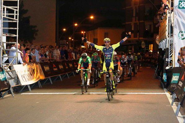 Fedrigo crede di avere vinto ma e^ soltanto quarto (Foto Pisoni)