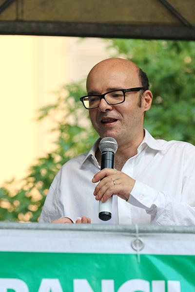 Lo speaker Fabio Panchetti (Foto Kia)