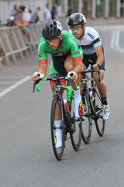 La fuga di Davide Donesana e Francesco Lamon (Foto Kia)