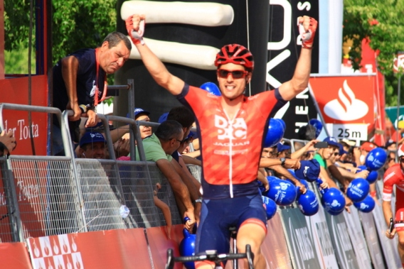 Wiliam vincitore 3^ tappa (Jean Claude Faucher)