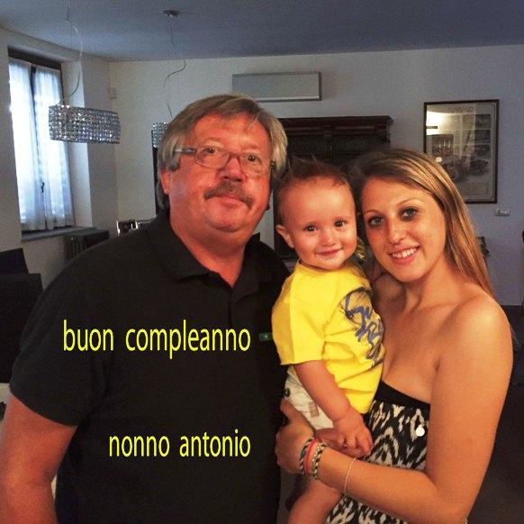 31.07.16 - Compleanno di Matteo Gli auguri di Nonno Antonio