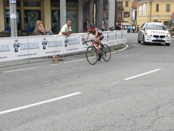 Simone Mascheroni in fuga solitaria (Foto Nastasi)