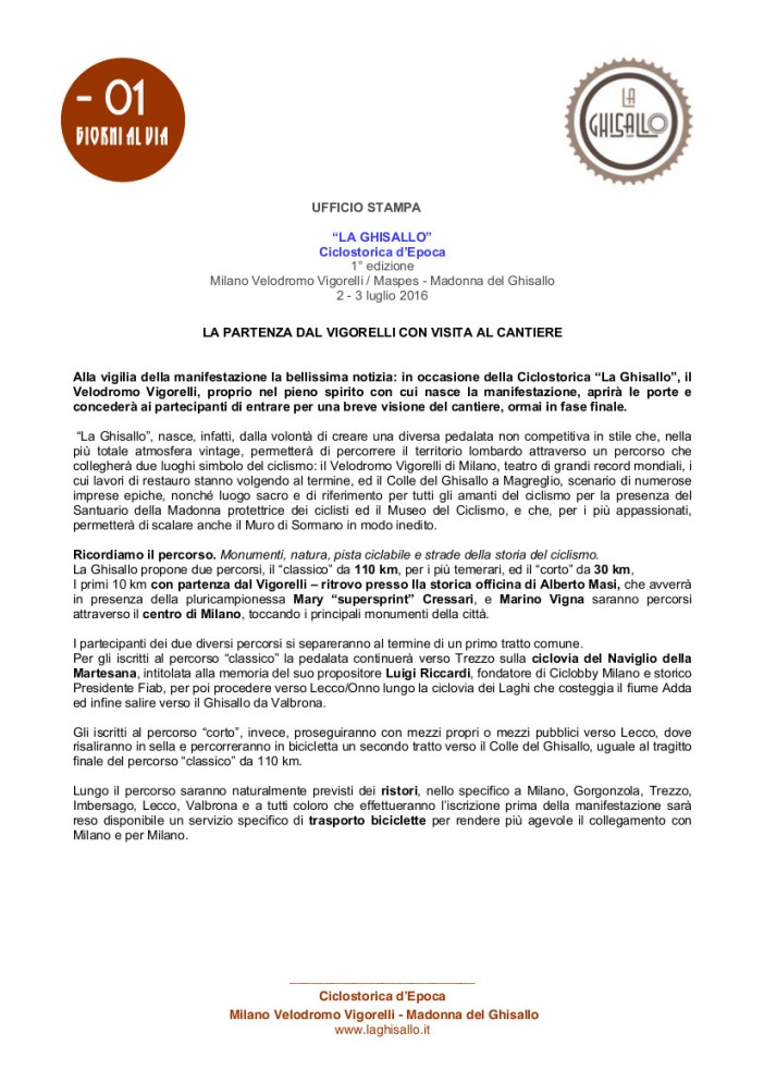 LA GHISALLO_ 1 COMUNICATO 08