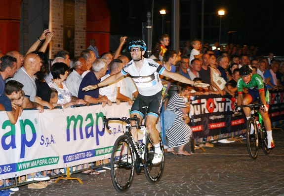 Riccardo Minali, 7° vittoria stagionale ad Osio Sotto (Foto Berry)