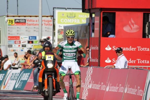 Jesus Ezquerra Muela vincitore 8° Tappa (Foto JC Faucher)