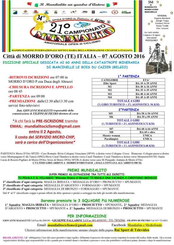 05.08.16 - Mundialito Morro d'Oro