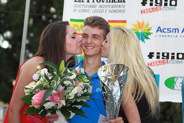 Mattia Ro (Equipe Corbettese), vincitore del Cronoprologo (Foto Kia)