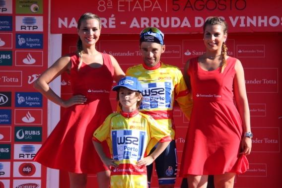 La maglia gialla Rui Vinhas (Foto JC Faucher)