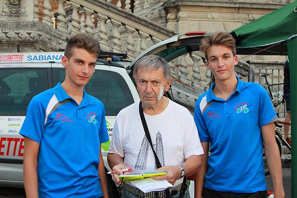 L'intervista ai due vincitori del cronoprologo di Appiano Gentile (Foto Kia)