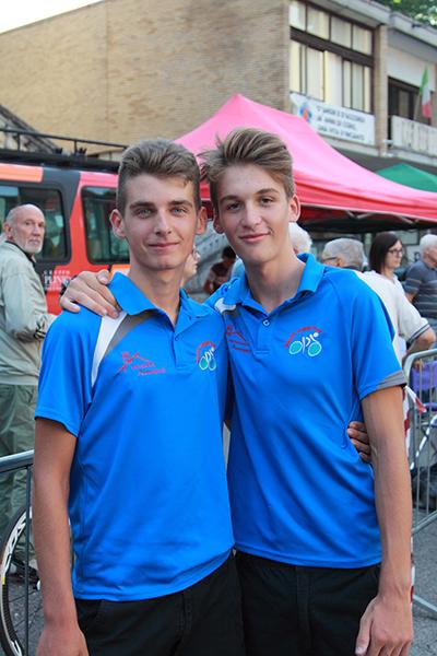 Mattia Ro e Alessandro Baroni dell'Equipe Corbettese (Foto Kia)