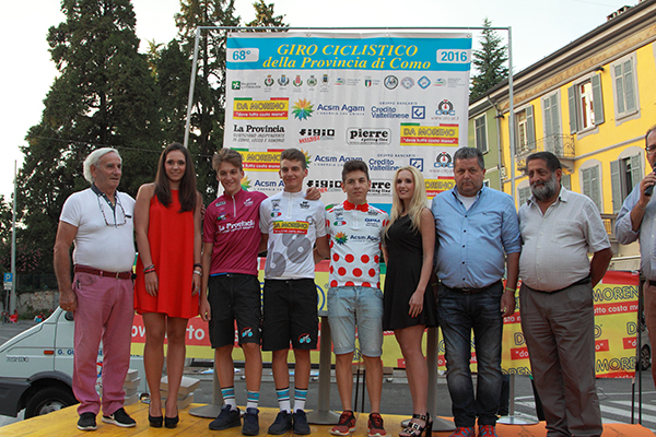Organizzatori, Miss e leaders provvisori 68° Giro Prov Como (Foto Kia)