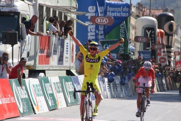 La vittoria di Daniel Mestre (Foto JC Faucher)