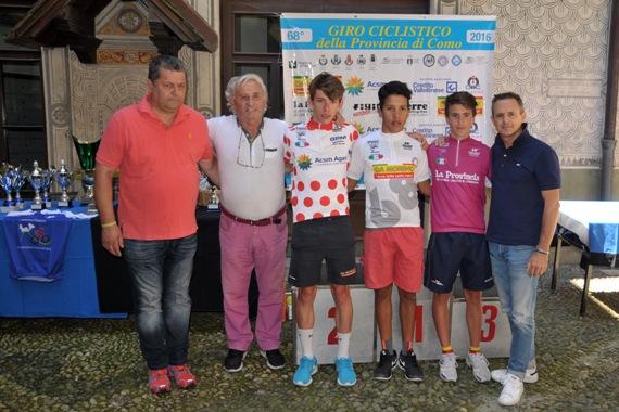 da sx, Aldegheri, Bettoni, Fancellu, Sekkak, Martinelli e Perego (Foto Mambretti)