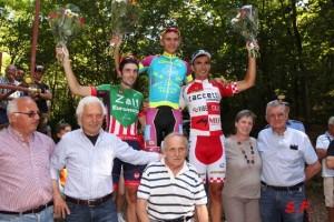 Podio 33° Trofeo Sportivi Briga con Mario Androni e Gianni Savio (Foto S.F. da Gio.More)