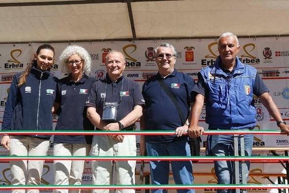 Giuria FCI al 33° Trofeo Sportivi di Briga (Foto Pisoni)