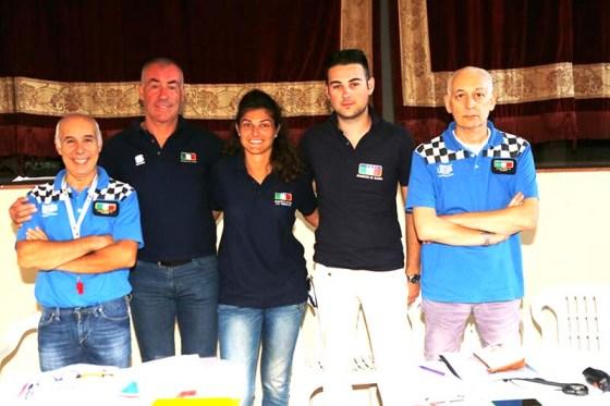 da sx Dottore, Mino Cesare, Giulia Fassina, Stefano Pavignano e Danilo Massocchi (Foto Pisoni)