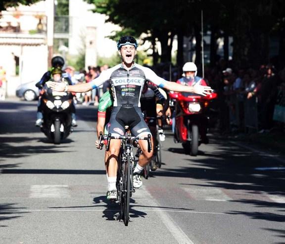 Federico Sartor vince a Casalnoceto (Foto Pisoni)