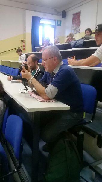 Il Giornalista milanese Aldo Trovati (Foto di Gabriella Mosna)