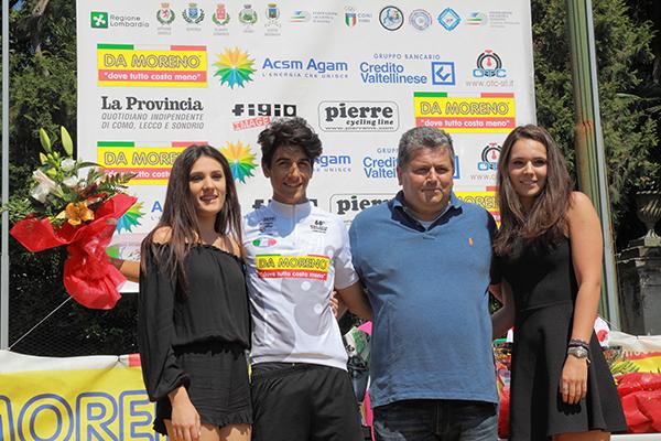 Nicolò Parisini è la nuova maglia bianca (Foto Kia)