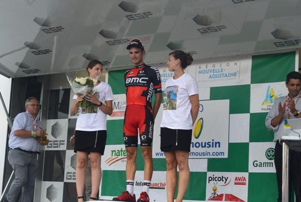 Rosskoph vincitore della 1° tappa (Foto Aldo Trovati)