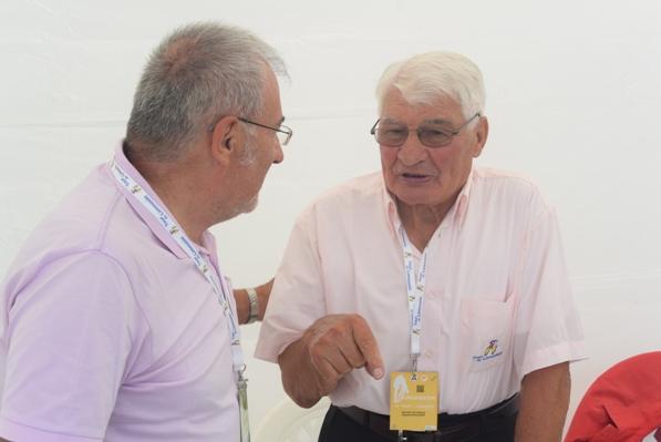 L'Amico e Collega Aldo Trovati intervista Raimond Poulidor