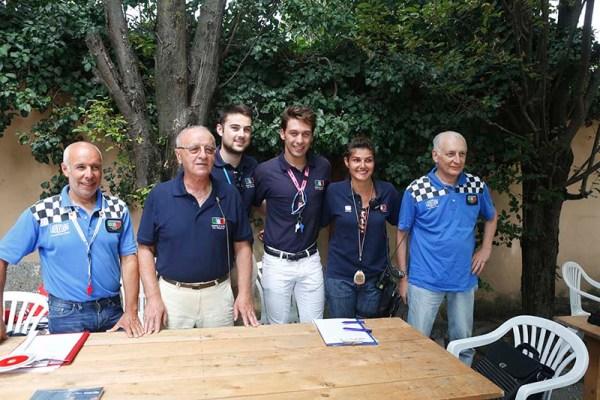 Giudici FCI e direttori di corsa (Foto Pisoni)