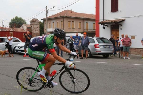 Imerio Cima in azione a Guazzora (Foto Pisoni)