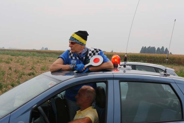 Danilo Massocchi, Direttore di corsa a Guazzora (Foto Pisoni)