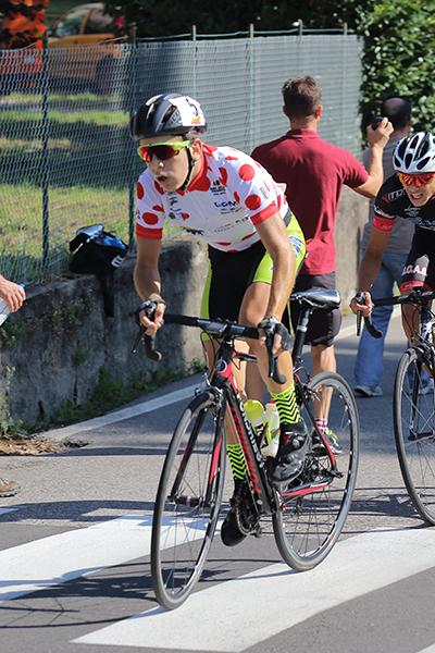 Andrea Sulis in azione (Foto Kia)