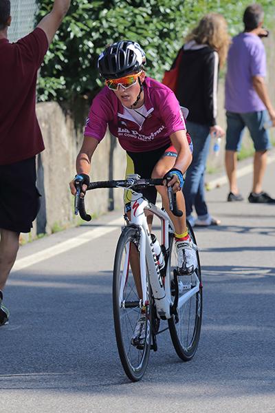 Martinelli in azione (Foto Kia)