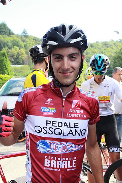 Samuele Rubino vincitore ad Orino (Foto Kia)