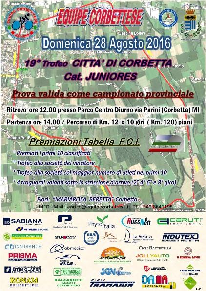 28.08.16 - LOCANDINA CAMPIONATO PROVINCIALE JUNIORES