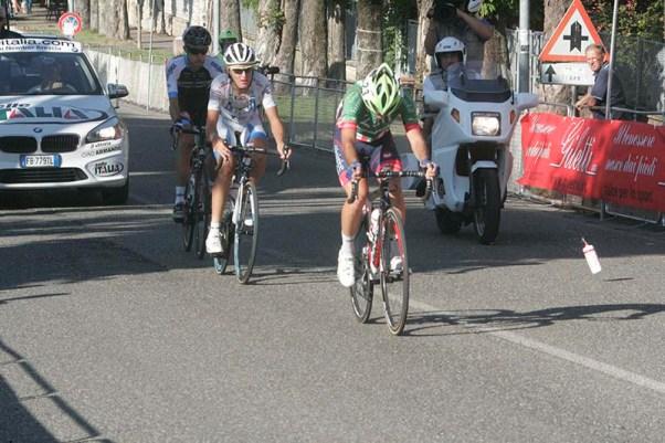 Vendrame, Nardelli e Orsini, ultima fuga di giornata (Foto Pisoni)