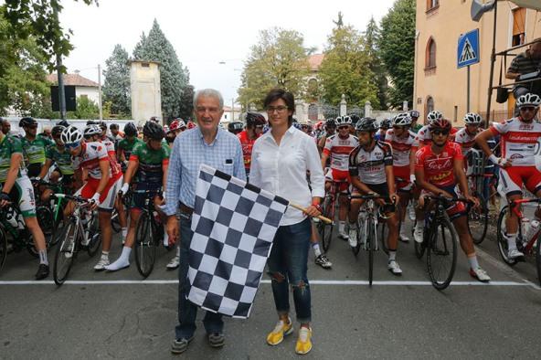 Orsi Cecilia, Starter della gara con Pierangelo Cisi (Foto Pisoni)